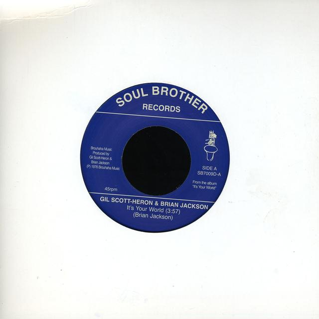 Gil Scott-Heron ITS YOUR WORLD-RECORD STORE DAY 2011 Vinyl Record
