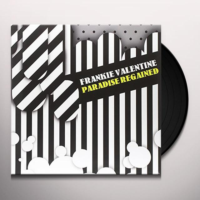 Frankie Valentine PARADISE REGAINED Vinyl Record - UK Release