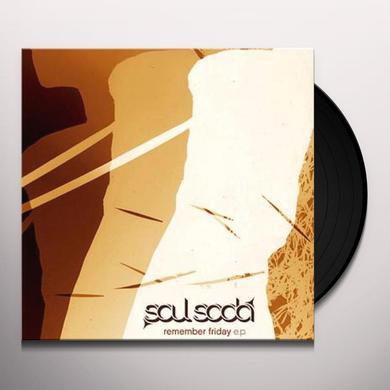 Soul Soda REMEMBER FRIDAY Vinyl Record - UK Release