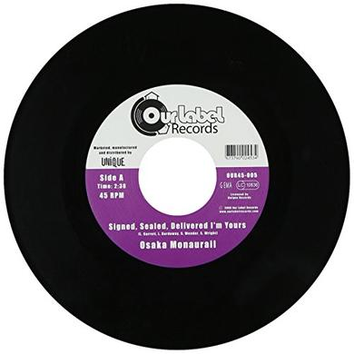 Osaka Monaurail SIGNED SEALED DELIVERED Vinyl Record - UK Release