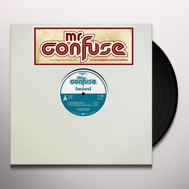 Mr. Confuse IMOVEL Vinyl Record - UK Import