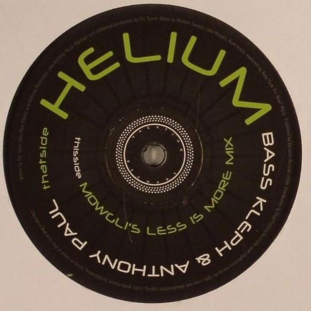 Bass Kleph HELIUM Vinyl Record - UK Release
