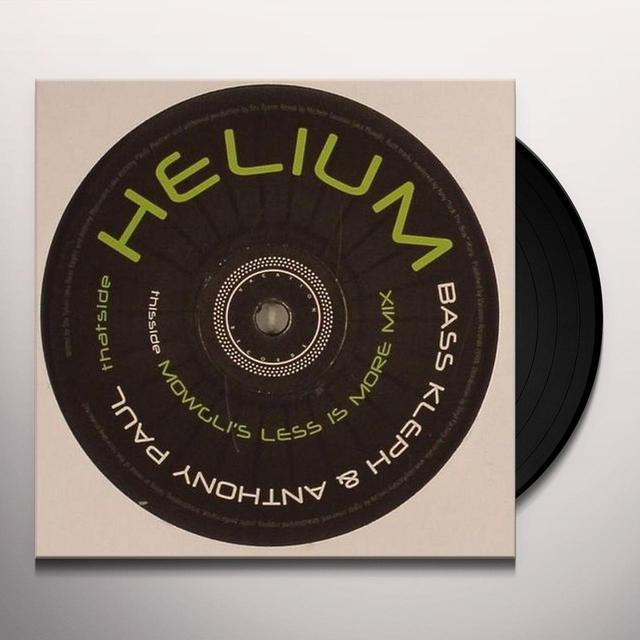 Bass Kleph HELIUM Vinyl Record - UK Import