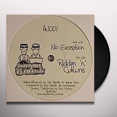 Journeyman Vs Barrcode NO EXCEPTION Vinyl Record - UK Release