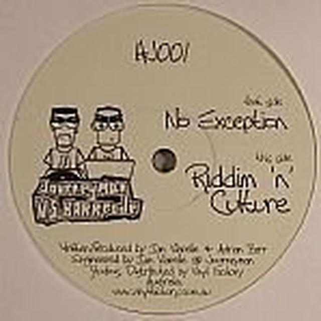 Journeyman Vs Barrcode NO EXCEPTION Vinyl Record - UK Import