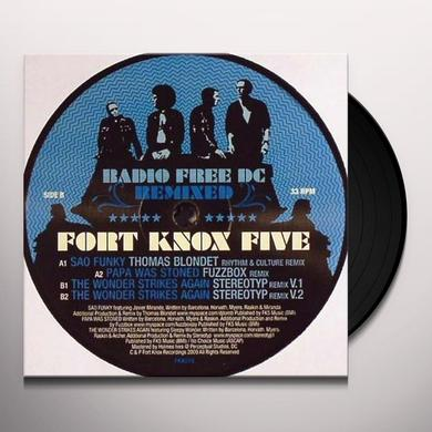 Fort Knox Five RADIO FREE DC REMIXED 6 Vinyl Record - UK Release