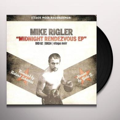 Mike Riegler MIDNIGHT RENDEZVOUS (GER) Vinyl Record