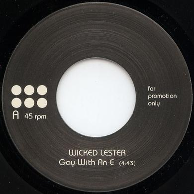 Wicked Lester GAY WITH AN E Vinyl Record - UK Release