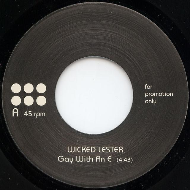 Wicked Lester GAY WITH AN E Vinyl Record - UK Import