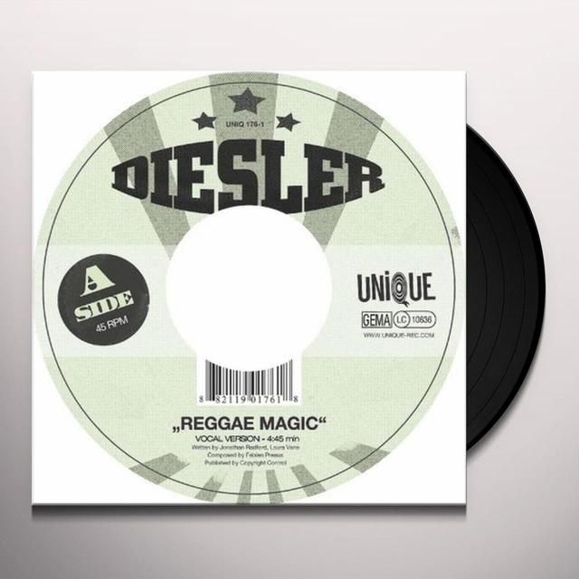 Diesler REGGAE MAGIC Vinyl Record - UK Import