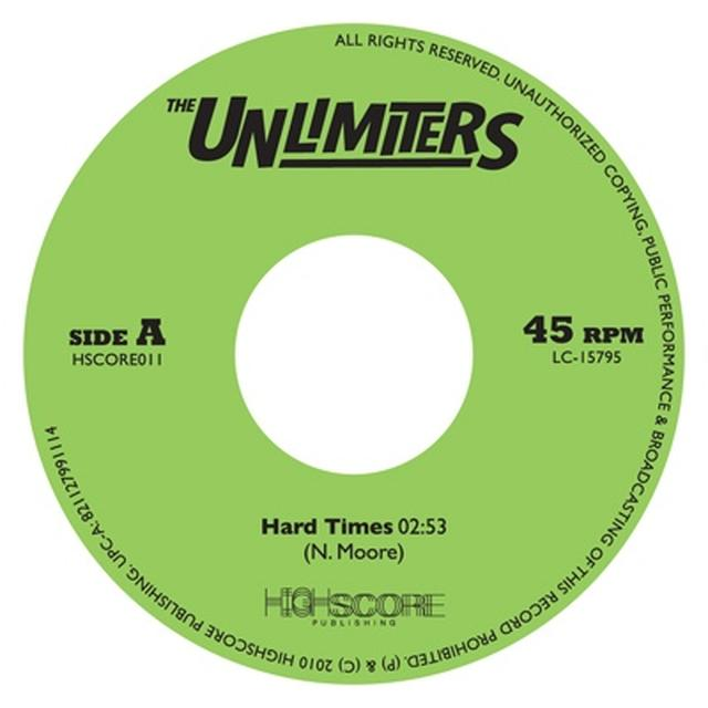 Unlimiters HARD TIMES Vinyl Record - UK Release