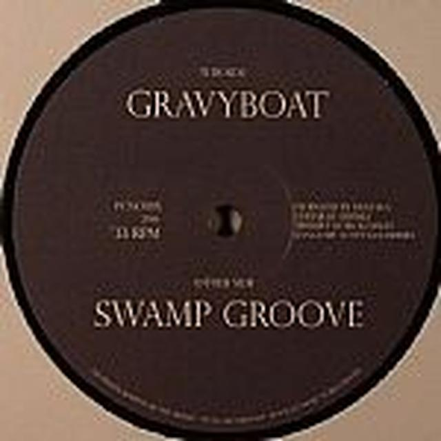 Captn K SWAMP GROOVE Vinyl Record - UK Import, 10 Inch Single