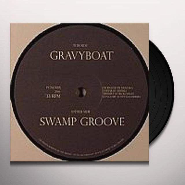 Captn K SWAMP GROOVE Vinyl Record - UK Import, 10 Inch Single