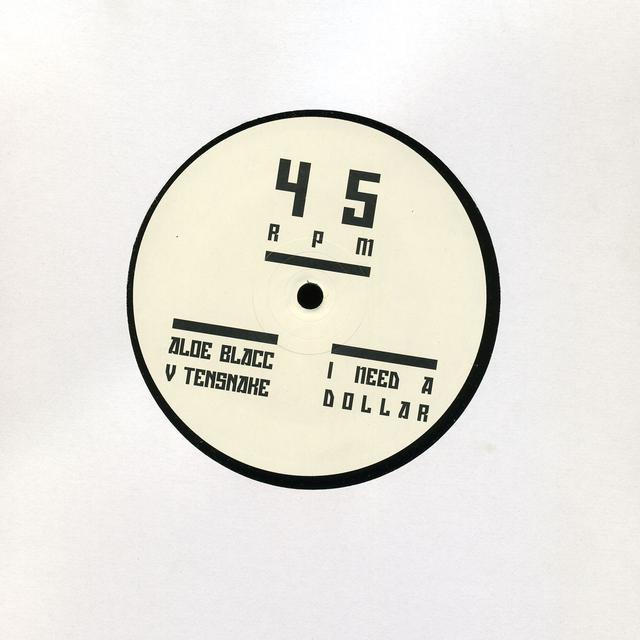 Aloe Blacc I NEED A DOLLAR-TENSNAKE REMIX Vinyl Record