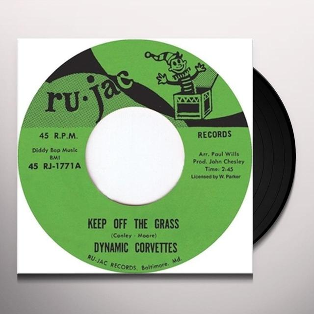 Dynamic Corvettes KEEP OFF THE GRASS/IT'S A TRAP Vinyl Record - UK Release