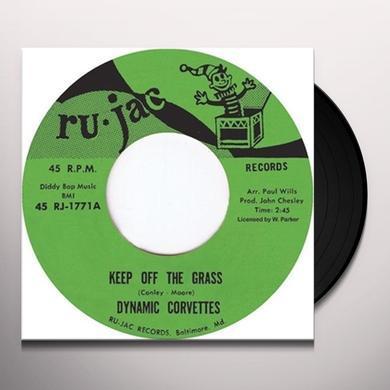 Dynamic Corvettes KEEP OFF THE GRASS/IT'S A TRAP Vinyl Record - UK Import