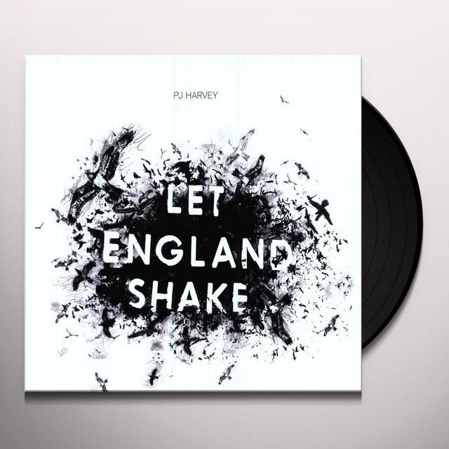 Pj Harvey LET ENGLAND SHAKE Vinyl Record - Holland Import