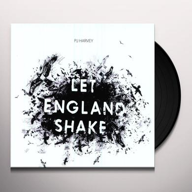 Pj Harvey LET ENGLAND SHAKE Vinyl Record - Holland Import