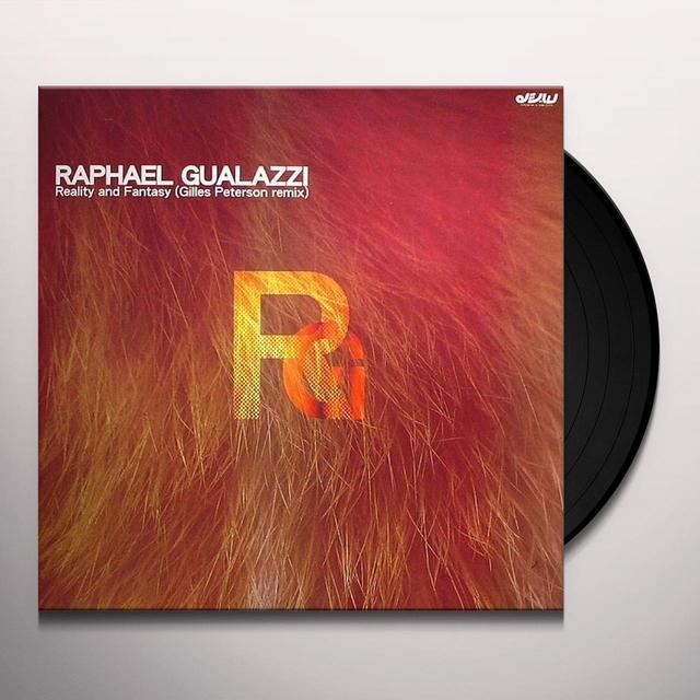 Raphael Gualazzi REALITY & FANTASY-GILLES PETERSON REMIX Vinyl Record - UK Release