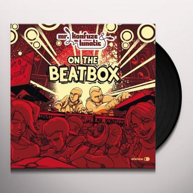 Mr Konfuze & Lunatic ON THE BEATBOX Vinyl Record - UK Release