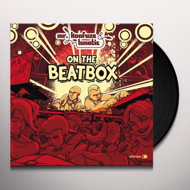 Mr Konfuze & Lunatic ON THE BEATBOX Vinyl Record - UK Release