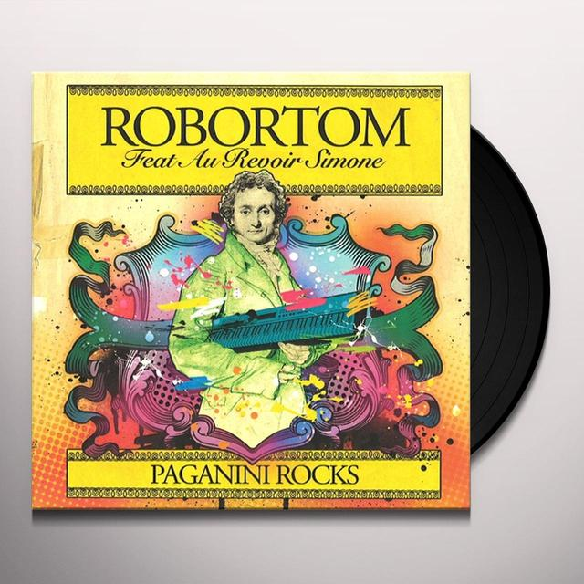 Robortom PAGANINI ROCKS Vinyl Record - UK Import