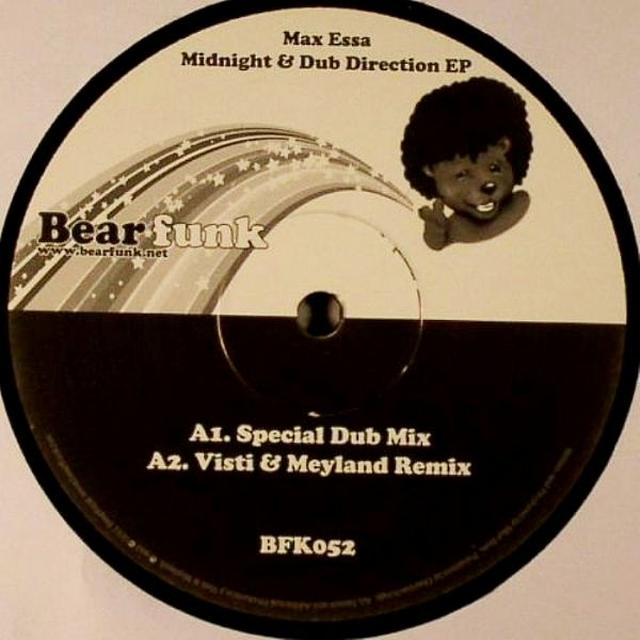 Max Essa MIDNIGHT & DUB DIRECTION EP Vinyl Record - UK Release