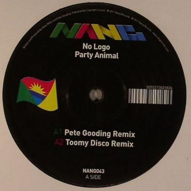 No Logo PARTY ANIMAL Vinyl Record - UK Release