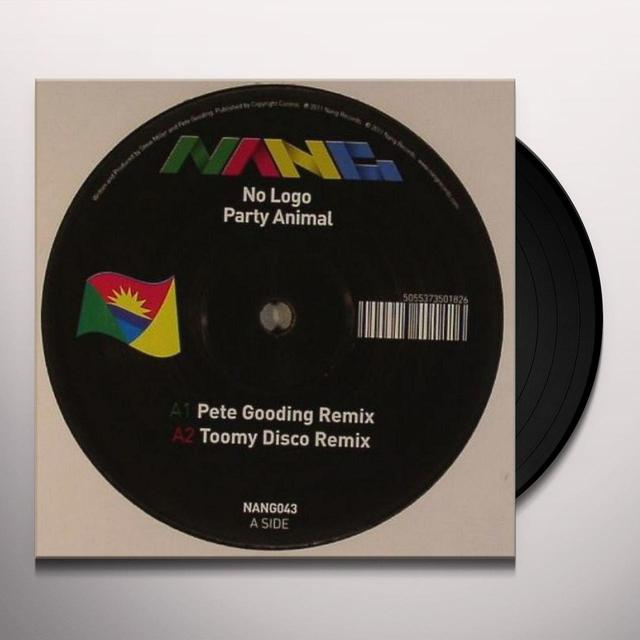 No Logo PARTY ANIMAL Vinyl Record - UK Import