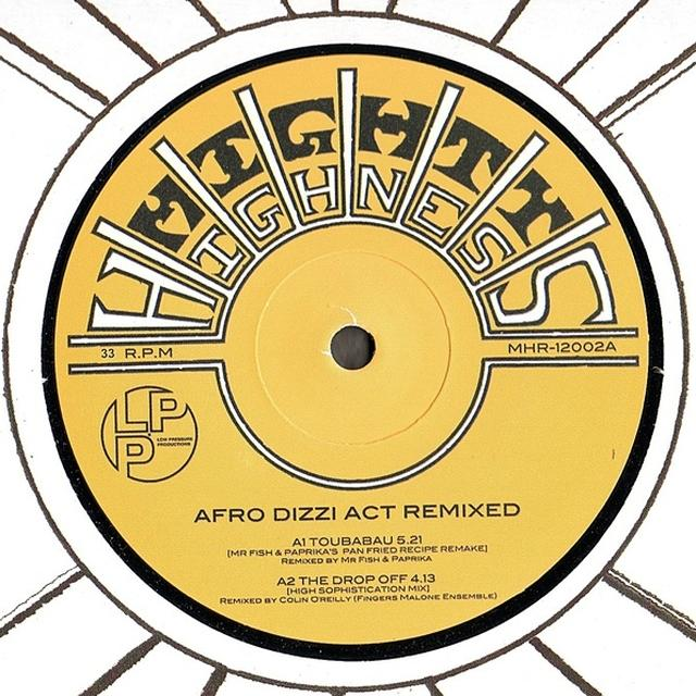 AFRO DIZZI ACT REMIXED Vinyl Record - UK Release