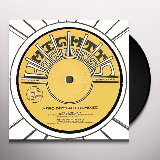 AFRO DIZZI ACT REMIXED Vinyl Record - UK Import
