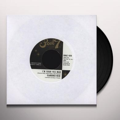 Clarence Reid I'M YOUR YES MAN Vinyl Record - UK Release