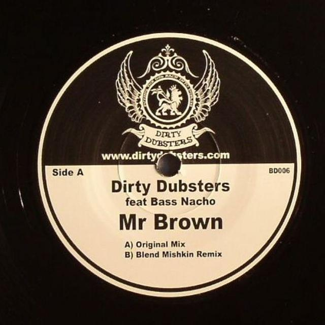 Dirty Dubsters MR BROWN Vinyl Record - UK Release