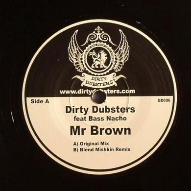 Dirty Dubsters MR BROWN Vinyl Record - UK Release