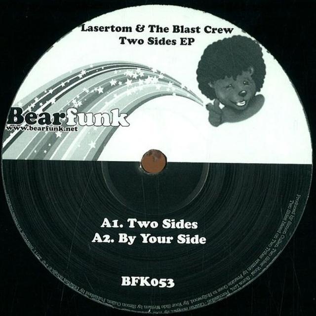 Lasertom & The Blast Crew TWO SIDES EP Vinyl Record - UK Release