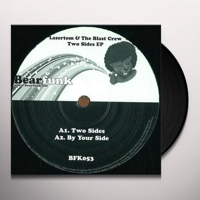 Lasertom & The Blast Crew TWO SIDES EP Vinyl Record - UK Release
