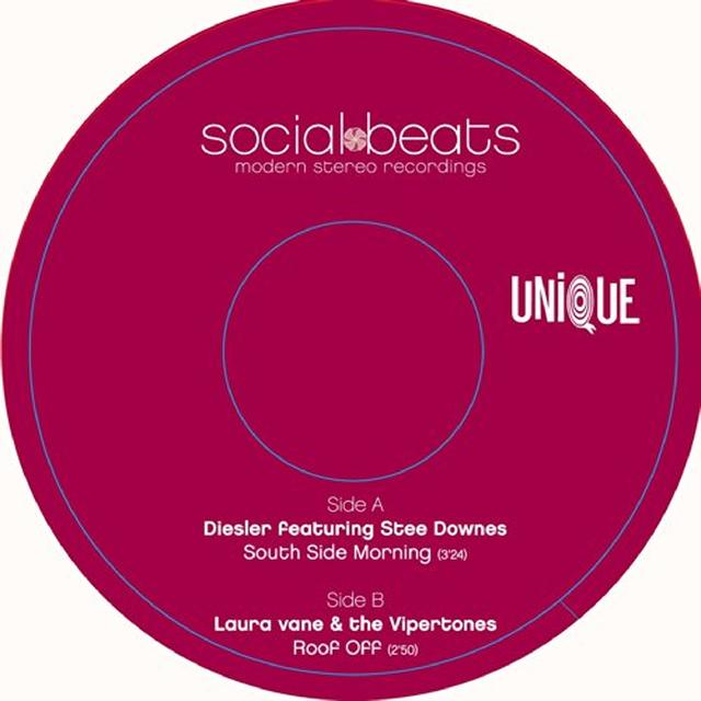 Laura / Vipertones Vane SOUTHSIDE MORNING Vinyl Record - UK Release