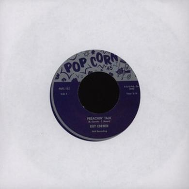 Roy Corwin PREACHIN' TALK Vinyl Record - UK Release