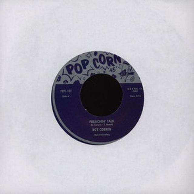 Roy Corwin PREACHIN' TALK Vinyl Record - UK Import
