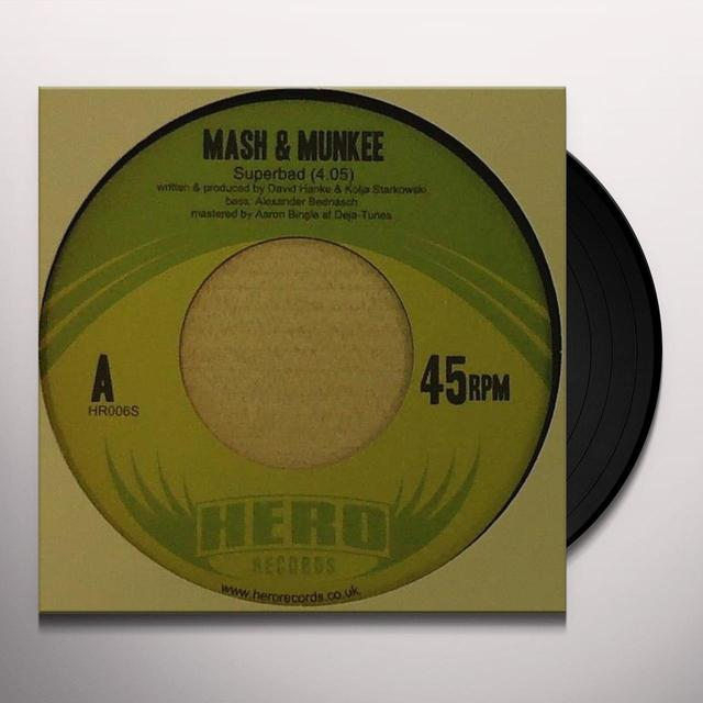 Mash & Munkee SUPERBAD Vinyl Record - UK Import