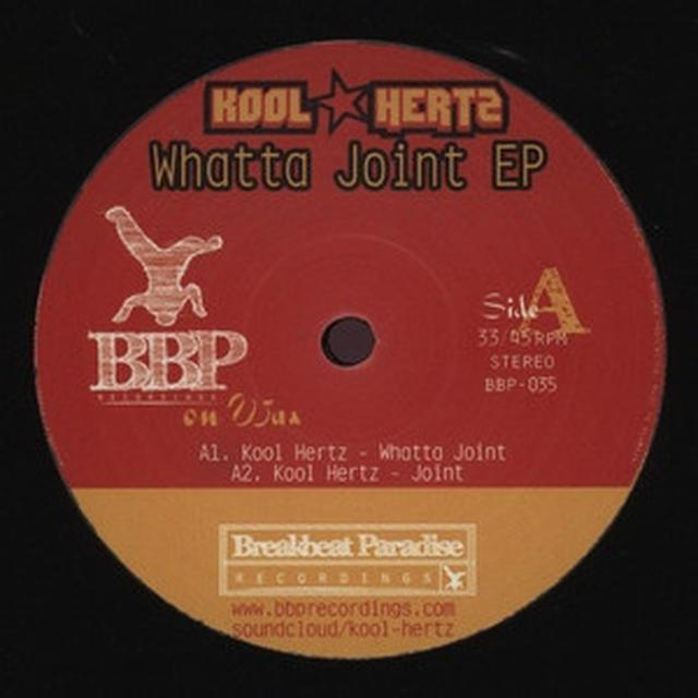 Kool Hertz WHATTA JOINT EP Vinyl Record - UK Release