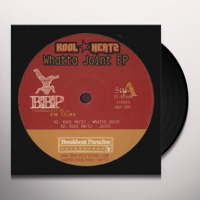 Kool Hertz WHATTA JOINT EP Vinyl Record - UK Import
