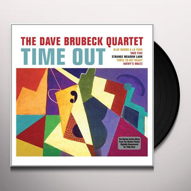 Dave Brubeck TIME OUT Vinyl Record - UK Import