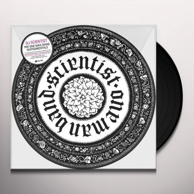 Dj Scientist ONE MAN BAND INSTRUMENTALS Vinyl Record - UK Import