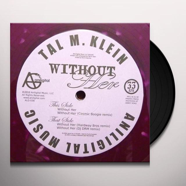 Tal M. Klein WITHOUT HER Vinyl Record - UK Import
