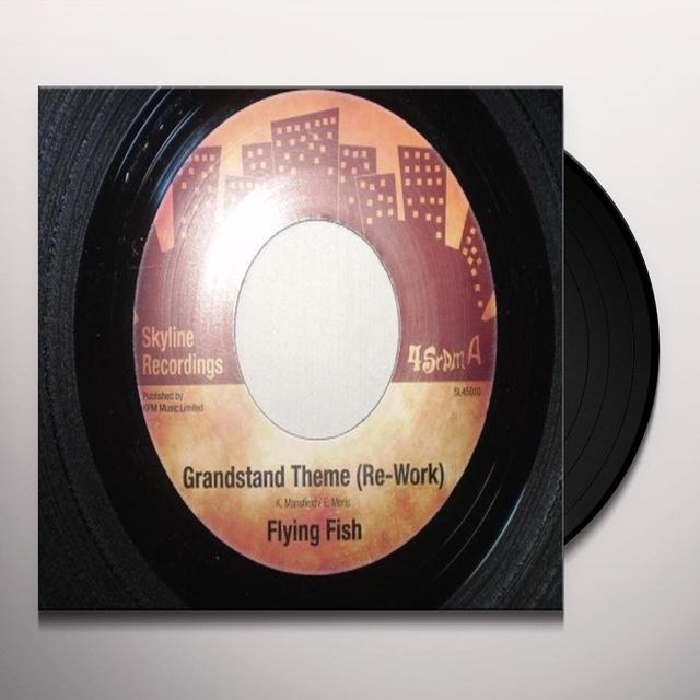 Flying Fish GRANDSTAND THEME (RE-WORK) Vinyl Record - UK Import