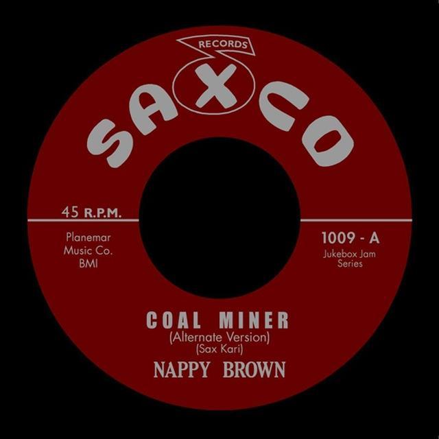 Nappy Brown COAL MINER Vinyl Record - UK Release