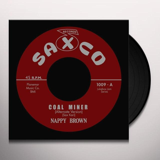 Nappy Brown COAL MINER Vinyl Record - UK Release