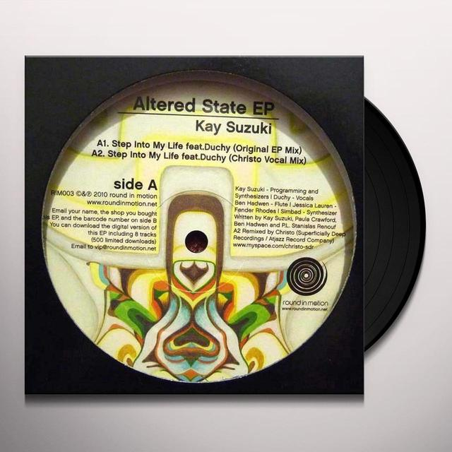 Kay Suzuki ALTERED STATE EP Vinyl Record - UK Release
