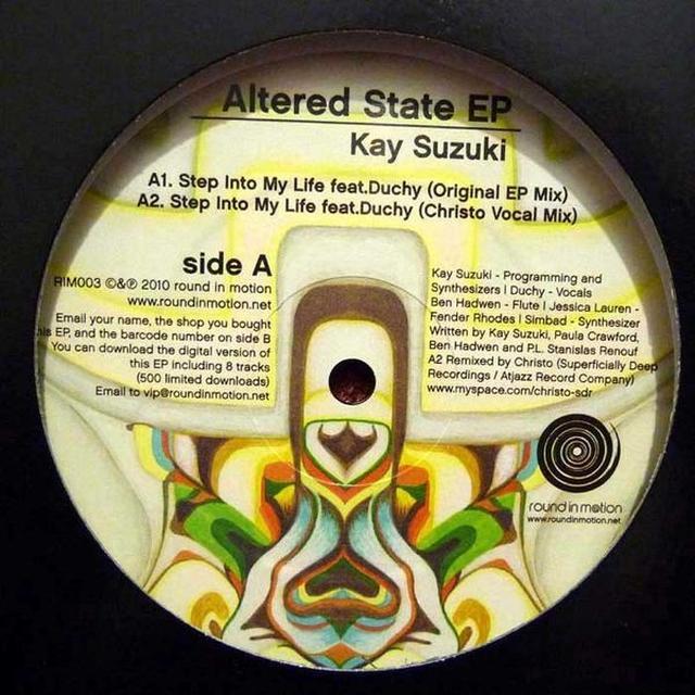 Kay Suzuki ALTERED STATE EP Vinyl Record - UK Release
